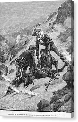 Buffalo Soldier, 1886 Canvas Print by Granger