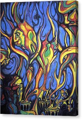 Buffalo Spirits Canvas Print by John Benko