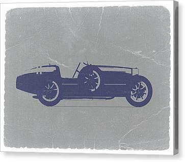 Bugatti Type 35 Canvas Print by Naxart Studio
