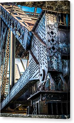 Built By U.s. Steel Canvas Print by Carlos Ruiz