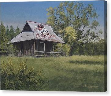 Bulldog Country Canvas Print by Peter Muzyka
