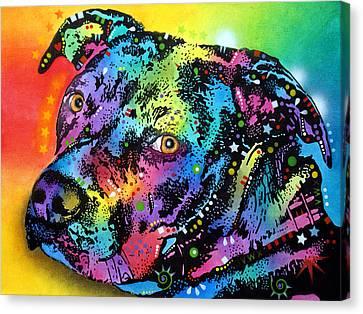 Bullseye Canvas Print by Dean Russo