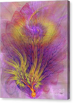 Burning Bush Canvas Print by John Robert Beck