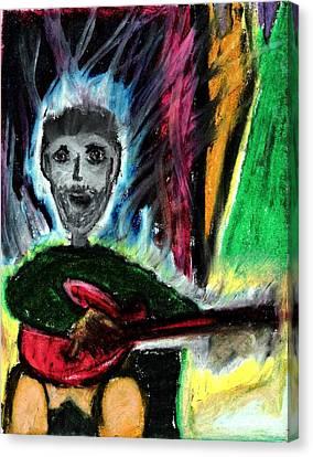 Burning Desire Canvas Print by Levi Glassrock