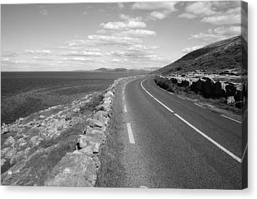 Burren Road Canvas Print by John Quinn