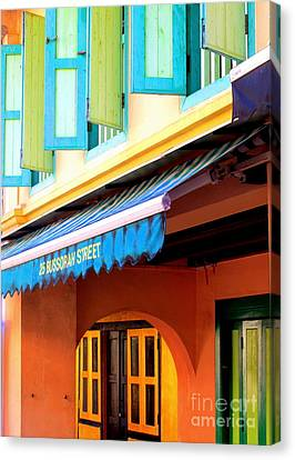 Bussorah Street Canvas Print by Ranjini Kandasamy