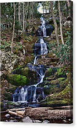 Buttermilk Falls All 200 Feet Canvas Print by Paul Ward
