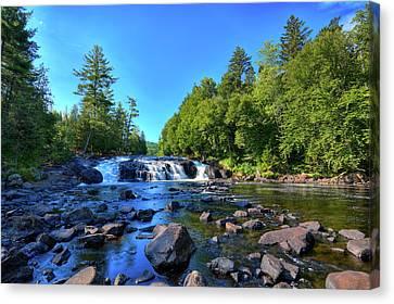 Buttermilk Falls Canvas Print by David Patterson