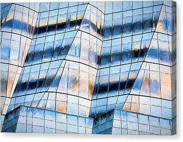 by  Frank Gehry Canvas Print by JC Findley