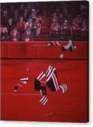 C B  Canvas Print by Ken Yackel