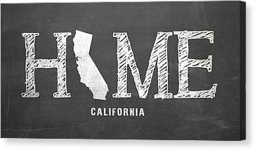 Ca Home Canvas Print by Nancy Ingersoll
