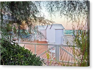 Cabana View Canvas Print by Madeline Ellis