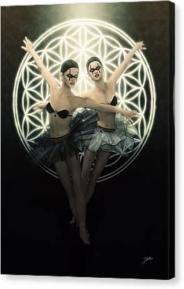 Cabaret Infernal Canvas Print by Joaquin Abella