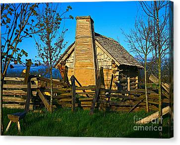 Cabin Fever Canvas Print by Robert Pearson