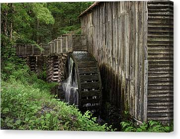 Cable Mill - Cades Cove - Tennessee Canvas Print by Nikolyn McDonald