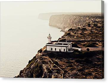 Cabo Blanco Lighthouse Canvas Print by Emilio Lopez