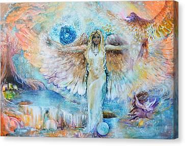 Cadecus Canvas Print by Ashleigh Dyan Bayer