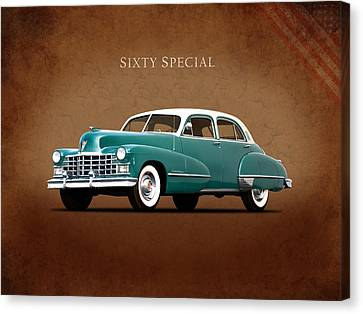 Cadillac Sixty Special 1949 Canvas Print by Mark Rogan