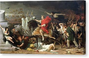 Caesar Canvas Print by Adolphe Yvon