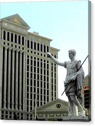 Caesars Palace Canvas Print by Will Borden