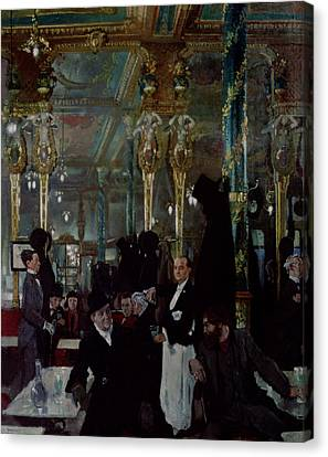 Cafe Royal, London, 1912 Canvas Print by Sir William Orpen