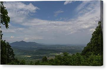 Cahas Mountain View Canvas Print by Teresa Mucha