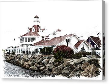 Cailiforna Long Beach Parkers Lighthouse Pa 01 Canvas Print by Thomas Woolworth
