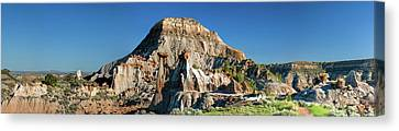 Cain's Coulee Overlook Canvas Print by Todd Klassy