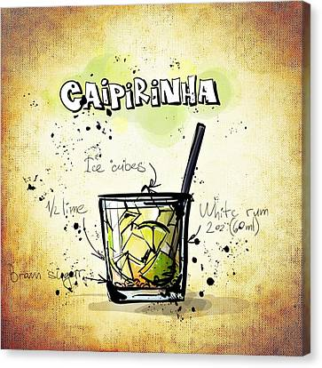 Caipirinha Canvas Print by Movie Poster Prints