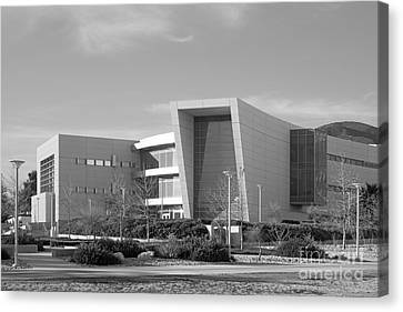Cal State University San Bernardino College Of Education Building Canvas Print by University Icons