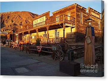 Calico Ghost Town In California Canvas Print by Timea Mazug