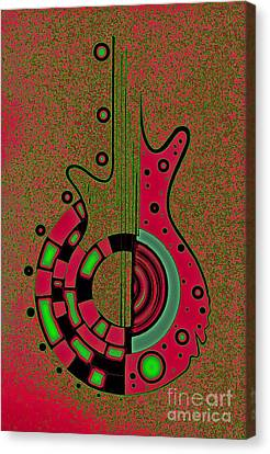 Caliente Canvas Print by Jose Vasquez