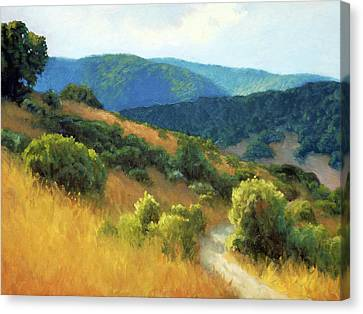 California Hills Canvas Print by Armand Cabrera