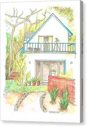 California-house Canvas Print by Carlos G Groppa