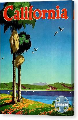 California - Santa Fe Poster Canvas Print by Roberto Prusso