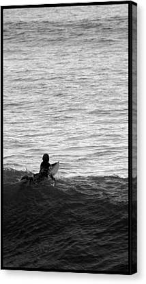 California Surfing Canvas Print by Brad Scott