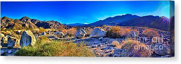 California Wilderness Panorama Canvas Print by Mariola Bitner
