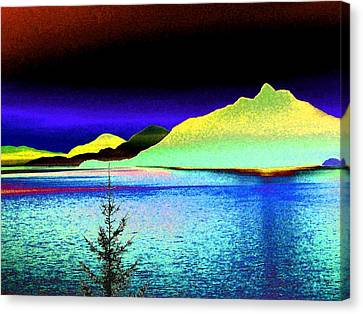 Call Of The Coast Canvas Print by Will Borden