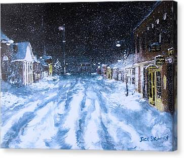 Call Out The Plows Canvas Print by Jack Skinner