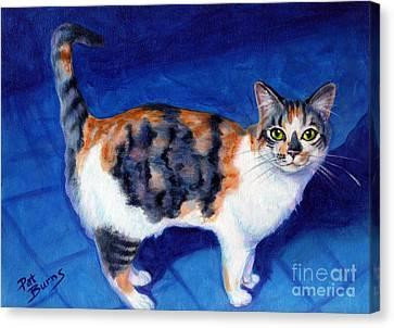 Callie Canvas Print by Pat Burns