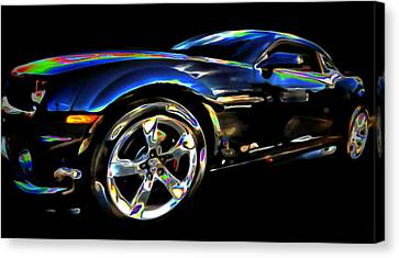 Camaro Canvas Print by  Fli Art