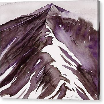 Camp Creek Ridge Canvas Print by Carolyn Doe