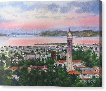 Campanille Tower Canvas Print by Karol Wyckoff