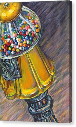 Can I Have A Penny Please Canvas Print by Jami Childers