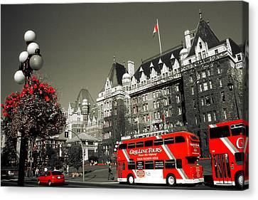 Canada Sightseeing - Highlight Canvas Print by Art America Online Gallery