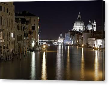 Canal Grande - Venice Canvas Print by Joana Kruse