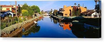 Canal, Venice, California Canvas Print by Panoramic Images