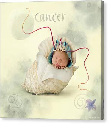 Cancer Canvas Print by Anne Geddes