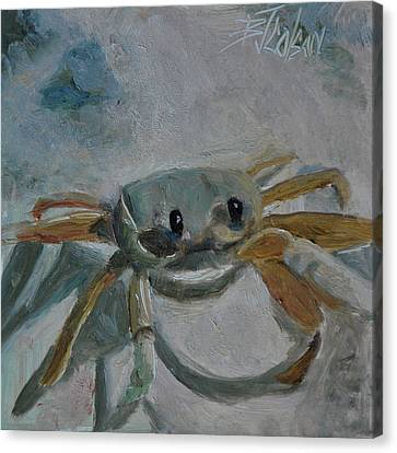 Cancer's Are Not Crabby Canvas Print by Billie Colson