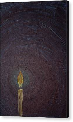 Candlelight 2 Canvas Print by Jonathan Kotinek